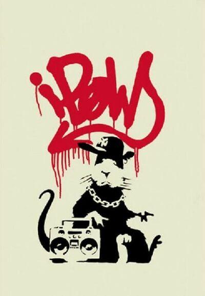 Banksy, 'Gangsta Rat- Unsigned', 2004