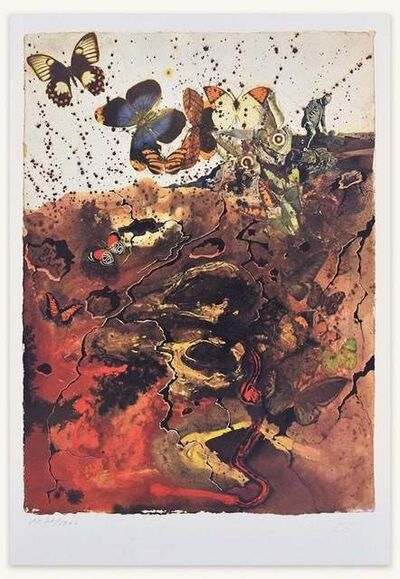 "Salvador Dalí, 'Plate VI - From ""Suite Papillon""', 1969"