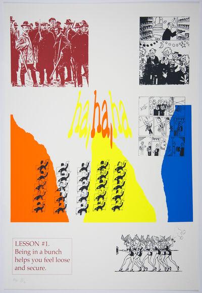 Benjamin Patterson, 'Lesson 1', 1996