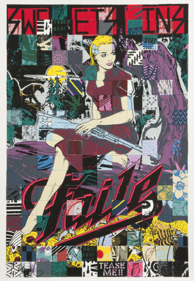 FAILE, 'Sweet Sins Brooklyn', 2015