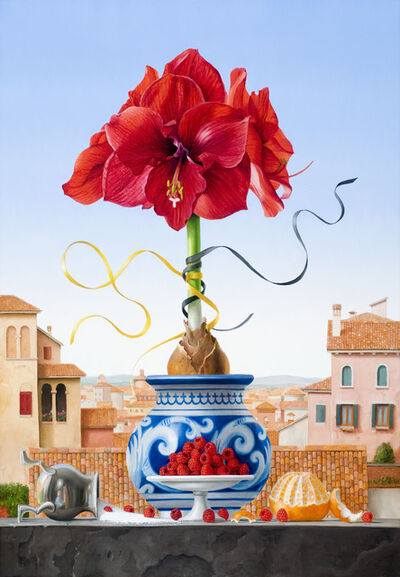 James Aponovich, 'Still Life with Amaryllis', 2008