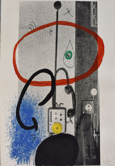 Joan Miró, 'The Night Guardian | Le gardien de nuit', 1971