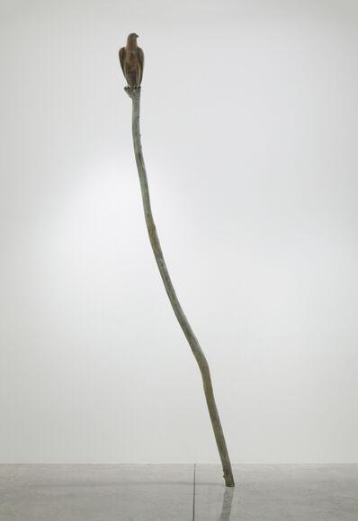 Gwynn Murrill, 'Hawk VI on a Branch', 2011