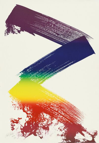 Paul Jenkins, 'Untitled II (Prism Zig-Zag)', 1983