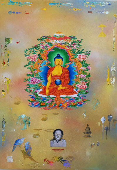Tim Johnson, 'Panchen Lama', 2016