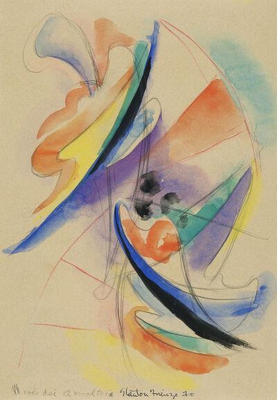Stanton MacDonald-Wright, 'Firenze', 1970