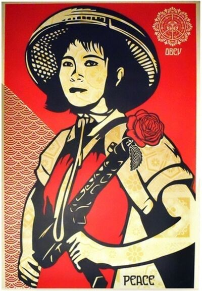 Shepard Fairey, 'Revolution Girl - Artist Proof', 2009