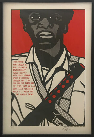 Emory Douglas, 'Our People's Army', 2008