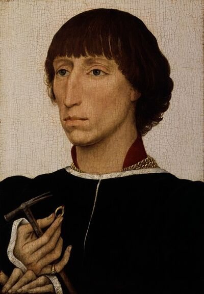Rogier van der Weyden, 'Francesco d'Este (born about 1430, died after 1475)', ca. 1460