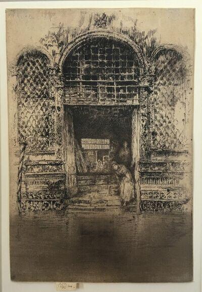 James Abbott McNeill Whistler, 'The Doorway', 1879