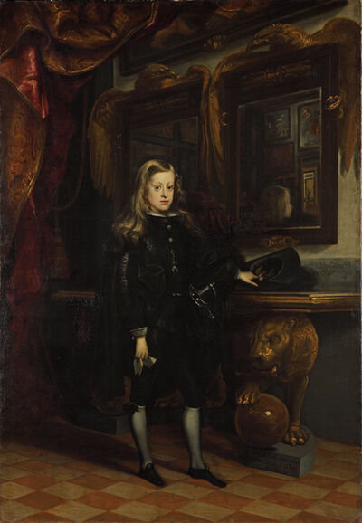 Juan Carreño de Miranda, 'König Karl II. von Spanien als Knabe', 1673