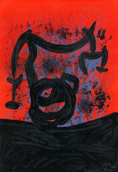 Joan Miró, 'Equilibre sur l'Horizon', 1969