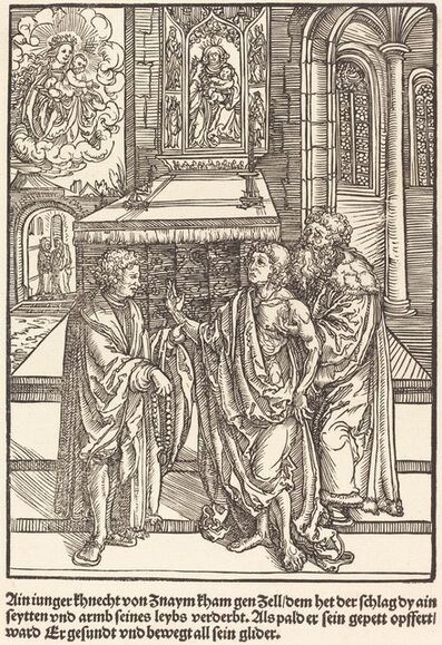 Master of the Miracles of Mariazell, 'Ain iunger Khnacht von Znaym ...', ca. 1503