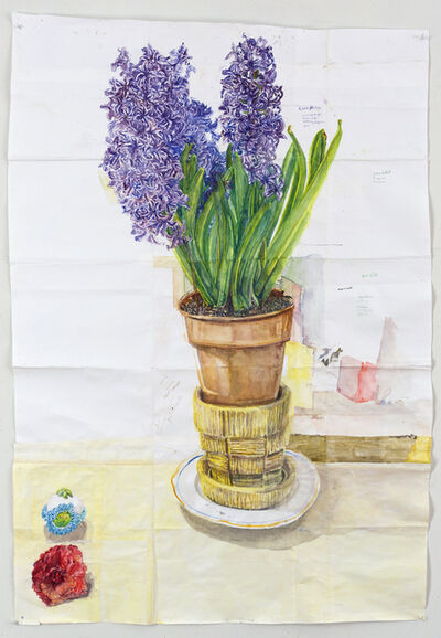 Dawn Clements, 'Hyacinth, Camilia, and Sugar Egg', 2014