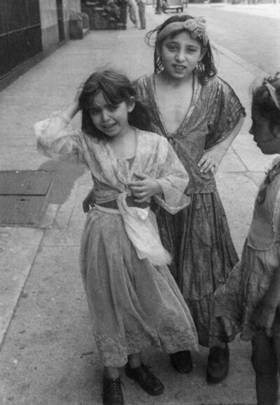 Helen Levitt, 'N.Y.C. (Gypsy girls)', ca. 1942