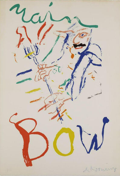 Willem de Kooning, 'Rainbow: Thelonious Monk Devil at the Keyboard', 1972-1976