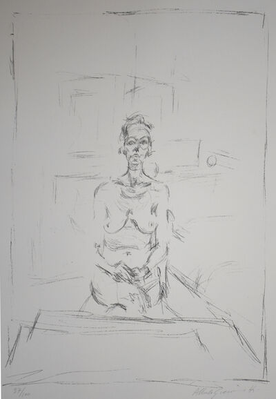 Alberto Giacometti, 'Seated Nude | Nu Assis', 1965