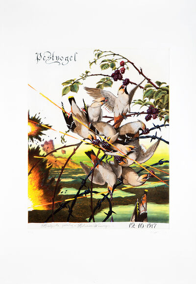Walton Ford, 'Pestvogel', 2016