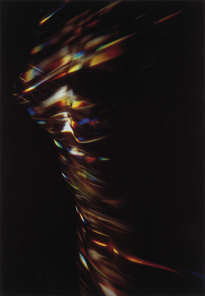 Lucien Clergue, 'Nude with prism * Hommage to Béla Bartók (red car). Together, 2 photographs', 1981