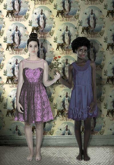 Karin Miller, 'em estelle with wallpaper', 2018
