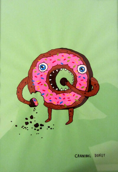 Laurina Paperina, 'Cannibal Donut', 2016