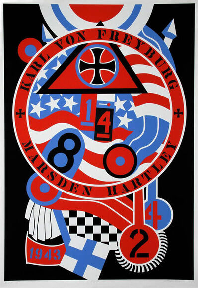 Robert Indiana, 'THE HARTLEY ELEGIES - KvF II', 1990