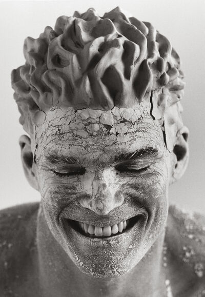 Herb Ritts, 'Clay Face, Hollywood ', 1989