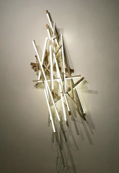 Carlos Sánchez Alonso, 'Structure of words and light', ca. 2020