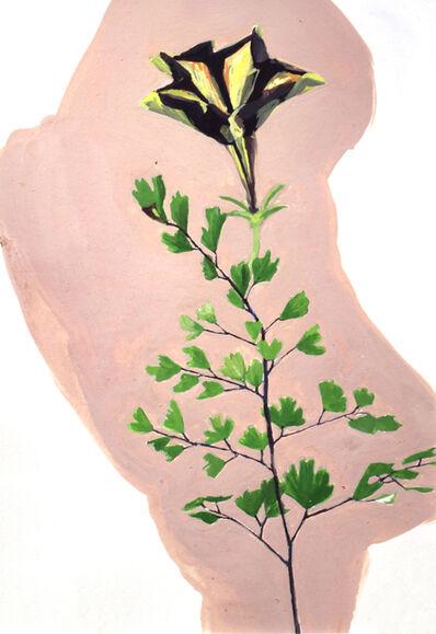 Elizabeth Thach, 'Petunia and Maidenhair Fern', 2014