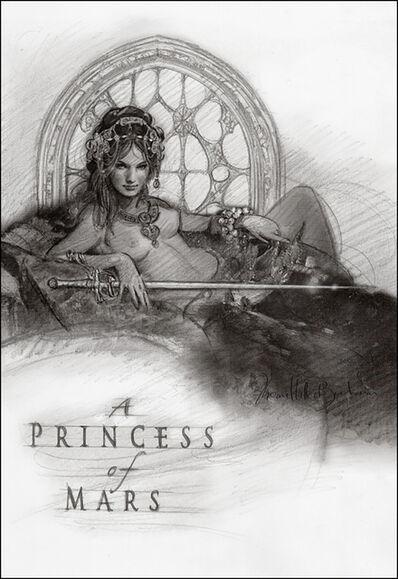 Thomas Haller Buchanan, 'A Princess of Mars (Preliminary)'