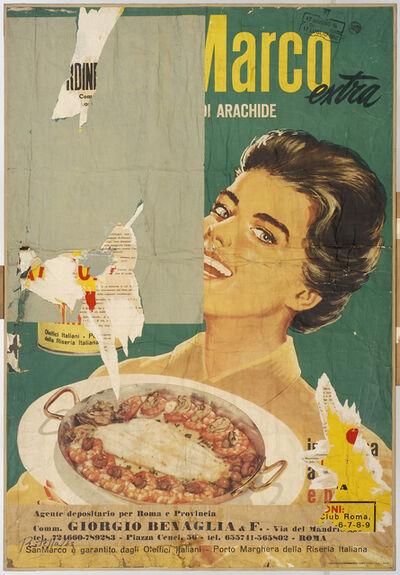 Mimmo Rotella, 'Arachidina', 1963