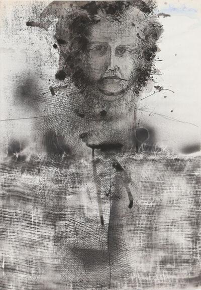 Josep Grau-Garriga, 'Self Portrait II, Ink Drawing', circa 1976