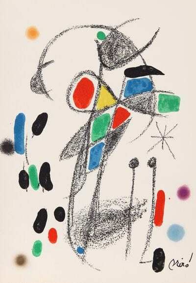 Joan Miró, 'Maravillas con Variaciones Acrosticas en el Jardin de Miro, Number 20', 1975