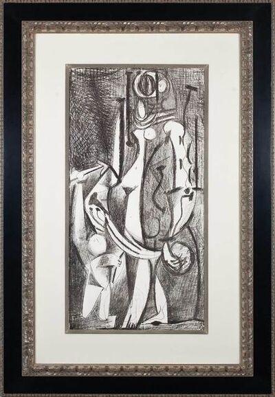 Pablo Picasso, 'Venus et l'amour (d'après Cranach): 1ère variation', 1949