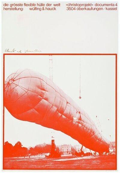 Javacheff Christo, '5600 m3, Kassel', 1968