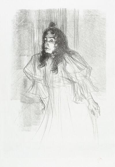 Henri de Toulouse-Lautrec, 'MISS MAY BELFORT EN CHEVEUX (Miss May Belfort with her Hair Down)', 1895
