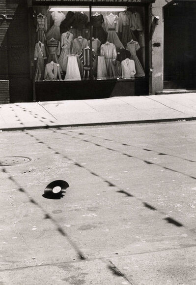 Helen Levitt, 'N.Y.C. (rolling record)', 1984