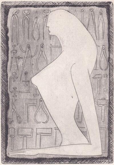 Anton Prinner, 'La Femme tondue (The Shaved Woman)', 1946