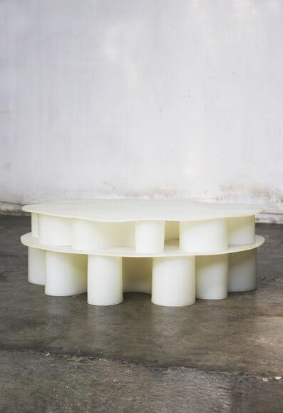 Brian Thoreen, 'White Rubber Center Table', 2019