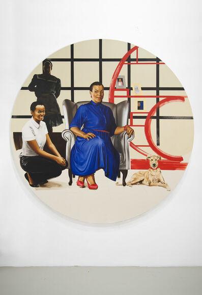 Meleko Mokgosi, 'Lerato: Philia II', 2016