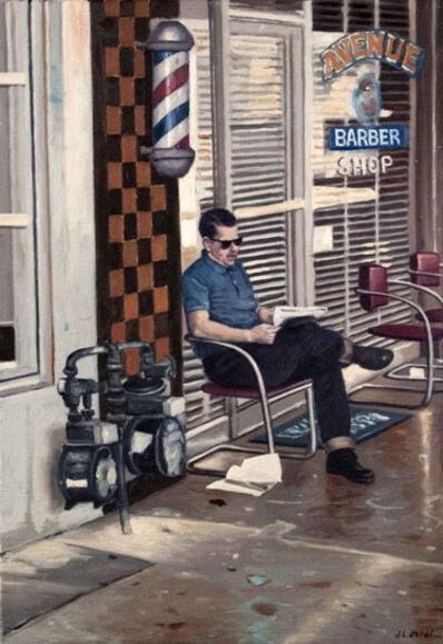 Juan Luis Jardi, 'Man at the Barber', 2019