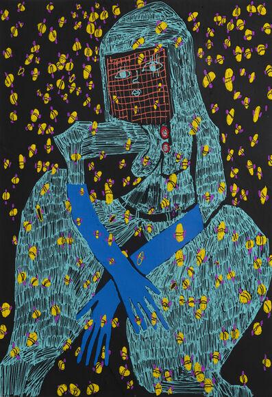 Summer Wheat, 'Night Beekeeper II', 2019