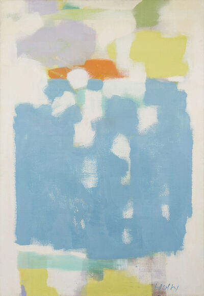 Carl Holty, 'The King's Blue', ca. 1958
