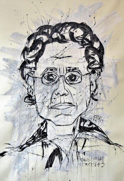 Franck de las Mercedes, 'Alazurda Portrait of Dora María Téllez', 2019