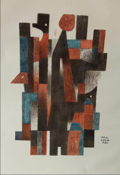 Carlos Merida, 'Characters', 1980