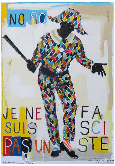 Fabio Coruzzi, 'Je Ne Suis Pas Un Fasciste #6', 2018