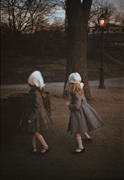 Louis Stettner, 'Two Girls in Park', 1956