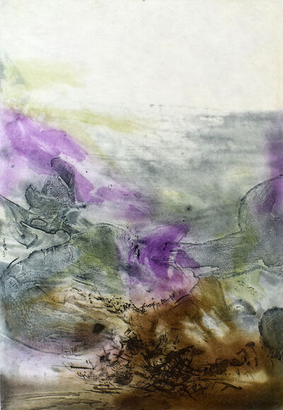 Zao Wou-Ki 趙無極, 'Composition VII, from: Canto Pisan', 1972