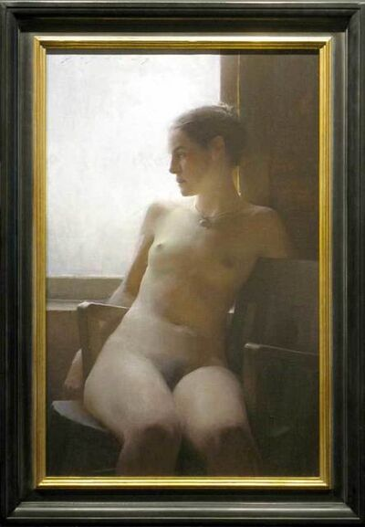 Jeremy Lipking, 'Nude by the Window'