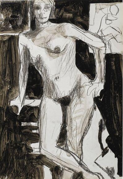 Richard Diebenkorn, 'Untitled (Standing Nude)', circa 1960-1966